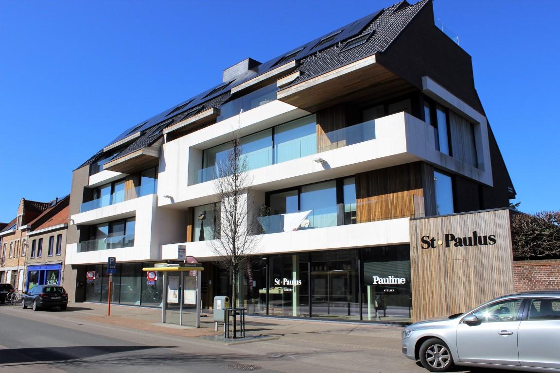 GB Construct, Residentie Dedeyne, Daktimmerwerken, Gevelbekleding, Padouk, Oostkamp